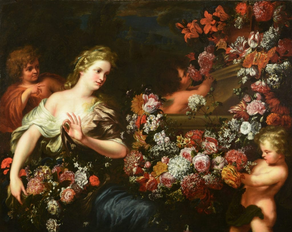 After-restoration-woman-with-flowers