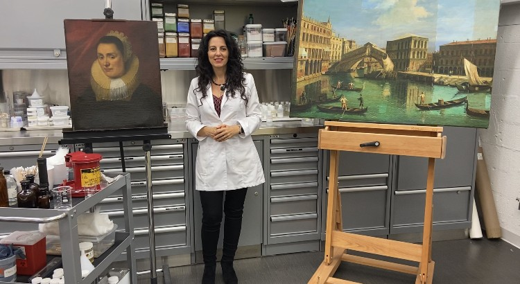 How Art Conservators Clean Paintings